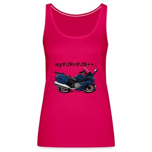 myFJR kleur - Vrouwen Premium tank top