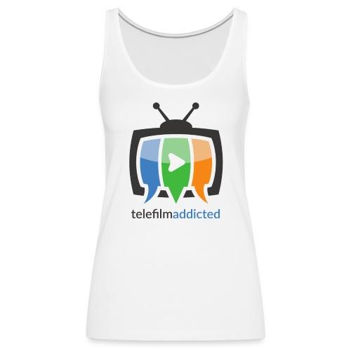 Telefilm Addicted Logo - Canotta premium da donna