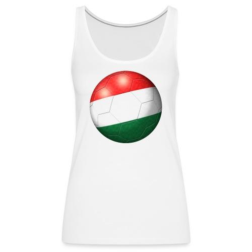 Fussball Ungarn Flagge 2 - Frauen Premium Tank Top