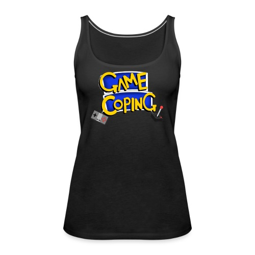 Game Coping Logo - Women's Premium Tank Top