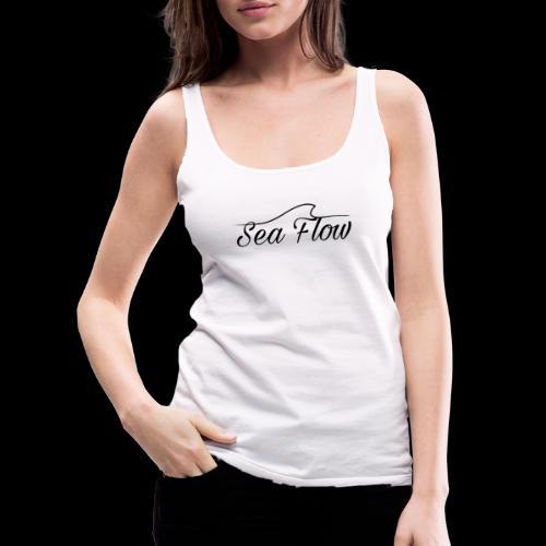 Sea Flow logo originale grande - Canotta premium da donna