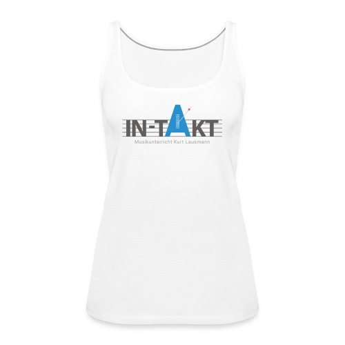 IN-TAKT Musikunterricht Logo Lovers - Frauen Premium Tank Top