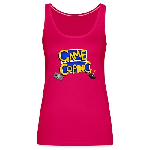 Game Coping Logo - Women's Premium Tank Top