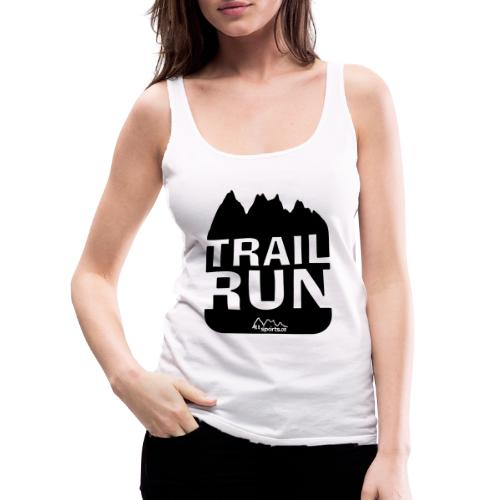 Trail Run - Frauen Premium Tank Top