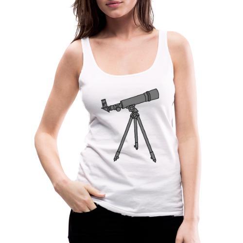 Teleskope Fernrohr 2 - Frauen Premium Tank Top
