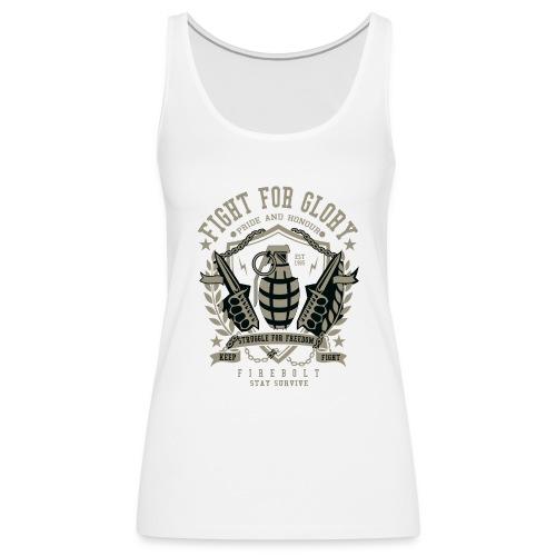 Grenade Fight for Glory - Vrouwen Premium tank top