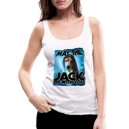 May the Jack be with you - Vrouwen Premium tank top