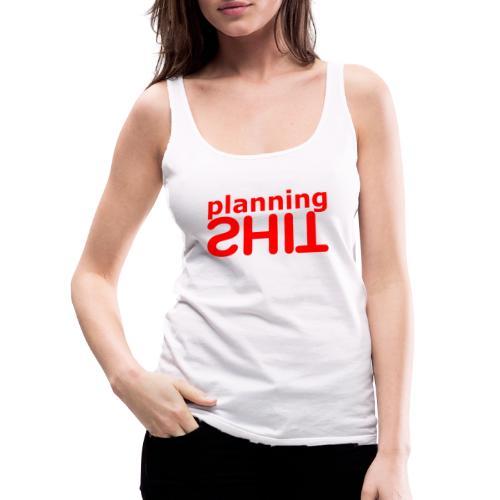 PLANNING - Camiseta de tirantes premium mujer