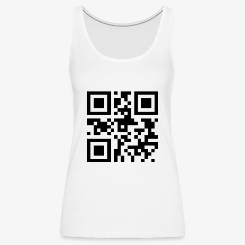 QR-Code Unique - Premium singlet for kvinner