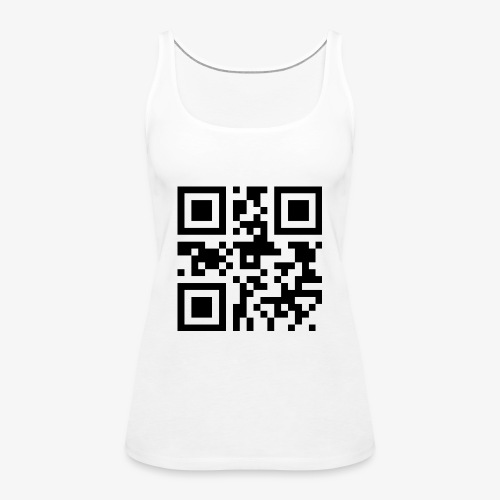 QR Code Unique - Women's Premium Tank Top