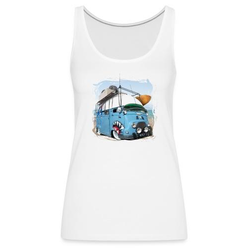 Estafette Van Surf sur la plage - Débardeur Premium Femme