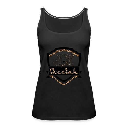 Cheetah Shield - Women's Premium Tank Top