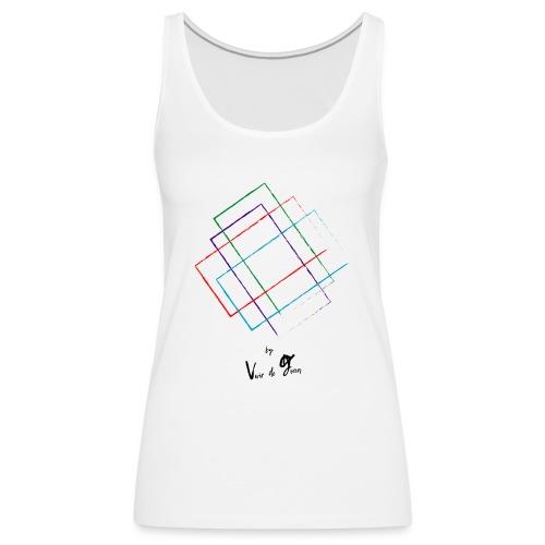Formas - Camiseta de tirantes premium mujer