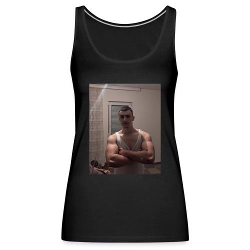 Bodybuilding muscle guy - Frauen Premium Tank Top