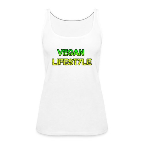 vegan lifestyle - Frauen Premium Tank Top