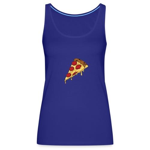 pizza design - Vrouwen Premium tank top