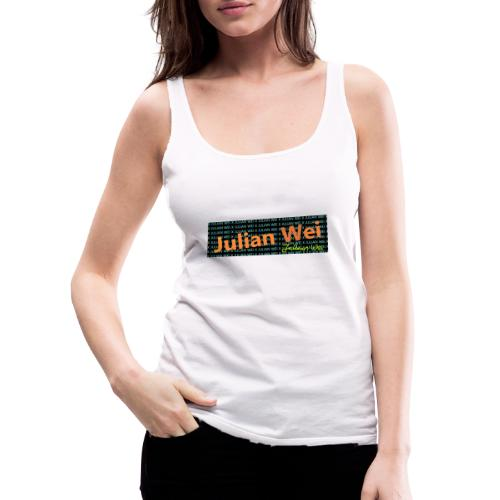 JULIAN WEI - Frauen Premium Tank Top