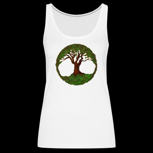 Tree of Life - colour - Women's Premium Tank Top