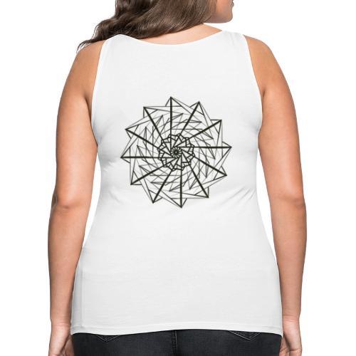 geometrico figo maglie chiare - Canotta premium da donna