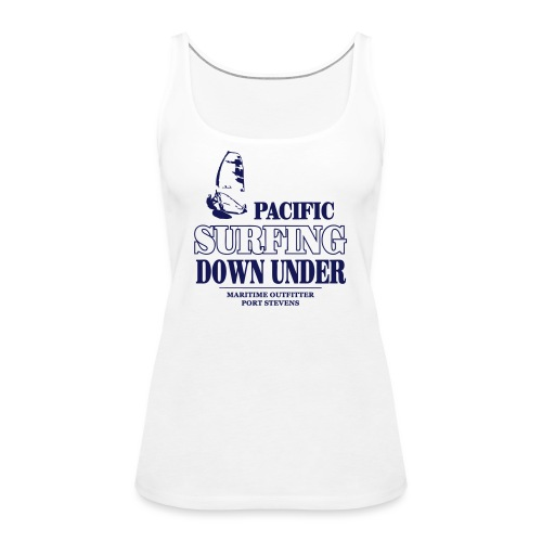 Pacific Surfing Down Under - Women's Premium Tank Top