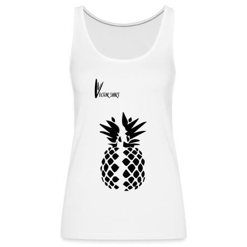 Broken Pineapple - Vector Shirt - Débardeur Premium Femme