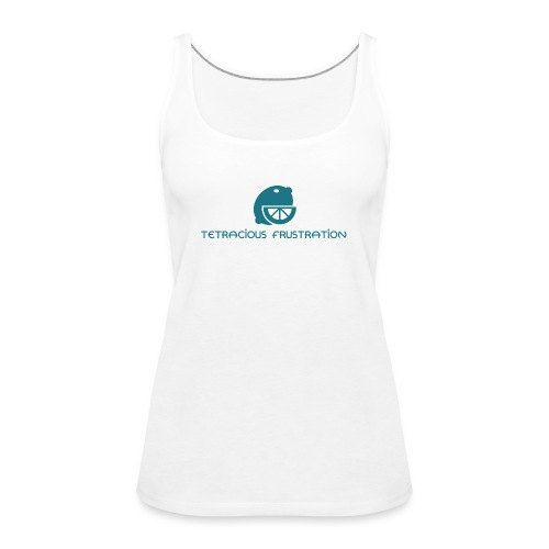 Coloured Tetracious Logo - Women's Premium Tank Top