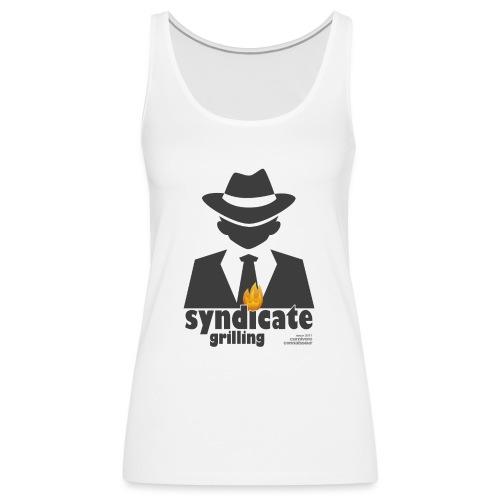 Syndicate Grilling - Mafia Grillshirt - Frauen Premium Tank Top