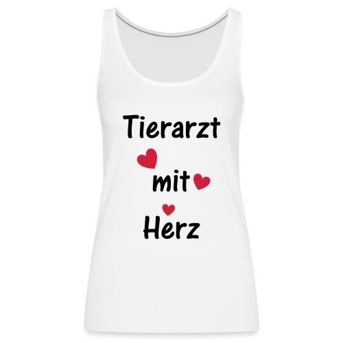 Tierarzt mit Herz - Frauen Premium Tank Top