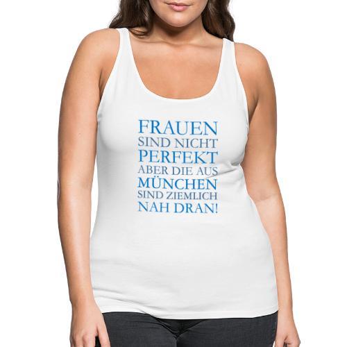 Frauen aus München (Blau) - Frauen Premium Tank Top