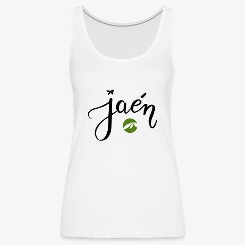 jaen - Camiseta de tirantes premium mujer