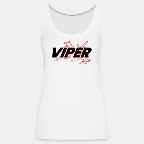 F-16 Viper / Fighting Falcon jet fighter / F16 - Women's Premium Tank Top