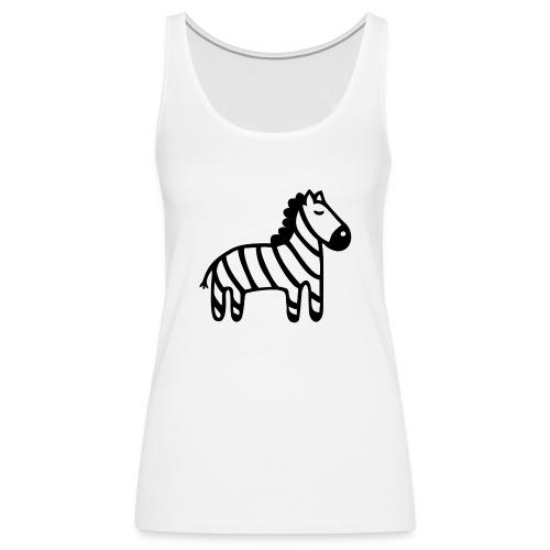 Kinder Comic - Zebra - Frauen Premium Tank Top