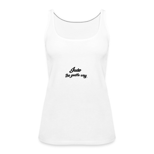 Judo Tshirt - Women's Premium Tank Top