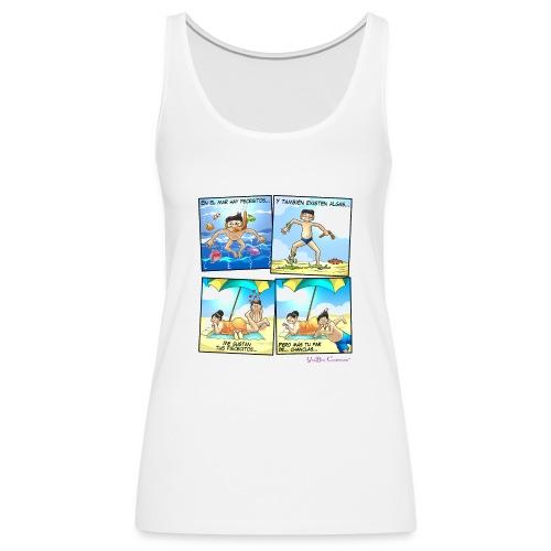 Entre peces y algas - Camiseta de tirantes premium mujer