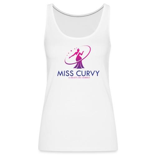 Logo2-MISS CURVY FRANCE - Débardeur Premium Femme