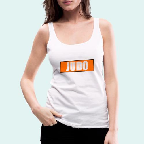 Judo Orange 5. Kyu - Frauen Premium Tank Top