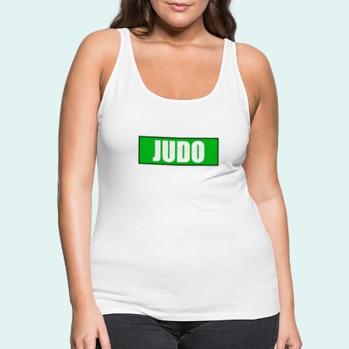 Judo Gruen 3. Kyu - Frauen Premium Tank Top