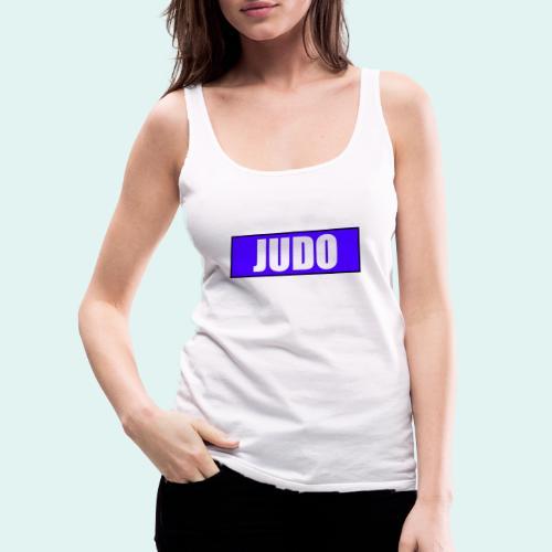 Judo Blau 2. Kyu - Frauen Premium Tank Top