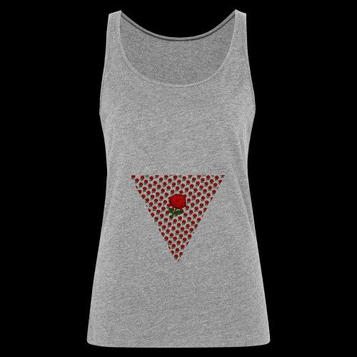 Dreieck Rose - Frauen Premium Tank Top