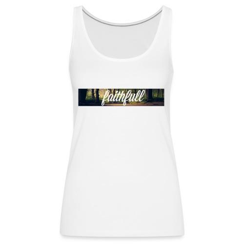 faithfullt-shirt trees - Vrouwen Premium tank top