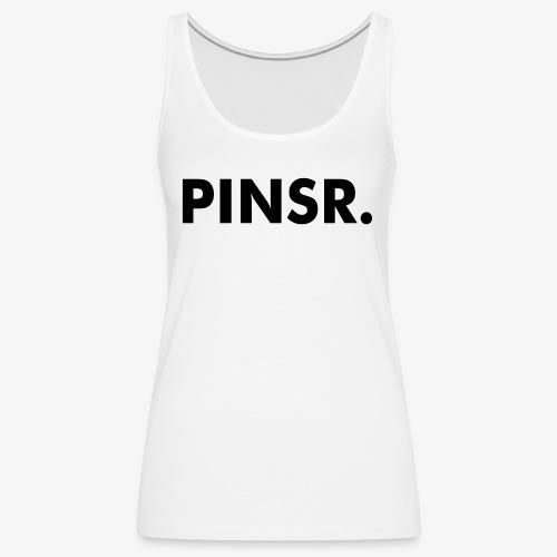 PINSR. White - Vrouwen Premium tank top