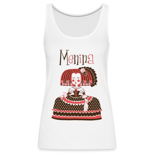 MENINA - Camiseta de tirantes premium mujer