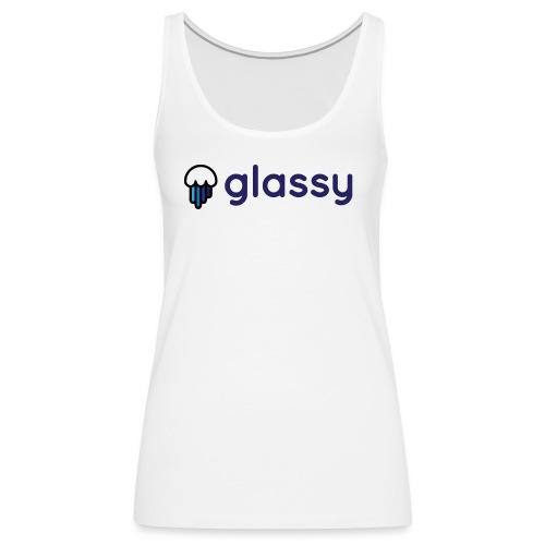 Glassy Unisex T shirt - Camiseta de tirantes premium mujer
