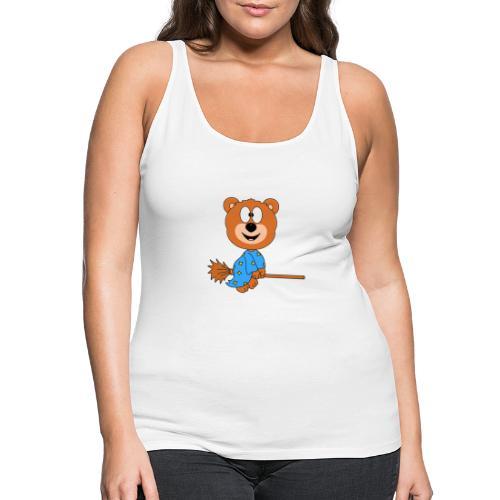 Lustiger Teddy - Bär - Hexe - Kind - Baby - Fun - Frauen Premium Tank Top