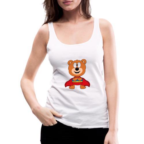 Teddy - Bär - Superheld - Kind - Baby - Tier - Frauen Premium Tank Top