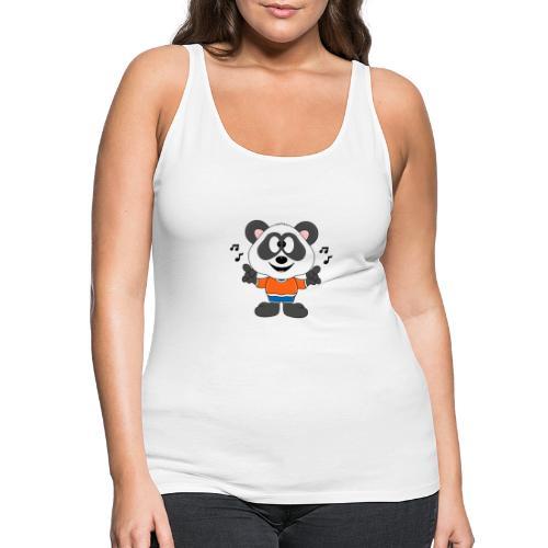 Panda - Bär - Musik - Kind - Tier - Baby - Frauen Premium Tank Top