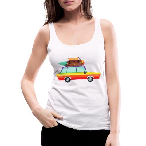 Gay Van   LGBT   Pride - Frauen Premium Tank Top