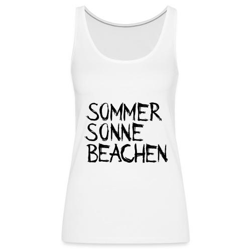 Sommer Sonne Beachen - Frauen Premium Tank Top