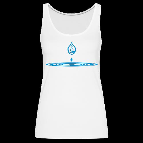 Zen-massage Logo-Design - Women's Premium Tank Top