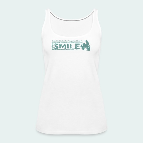 SMILE-Shirt 2018 - Frauen Premium Tank Top